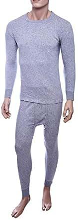 John Gladstone Jgmwtc44 Pajama Set For Men - Xl, Gray