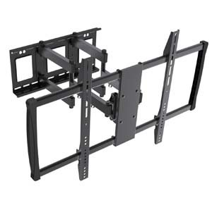 "GOWOS Flat or Curved TV Mount for 60~100"" Fullmotion Max 900x600 176lbs, LPA37-696"
