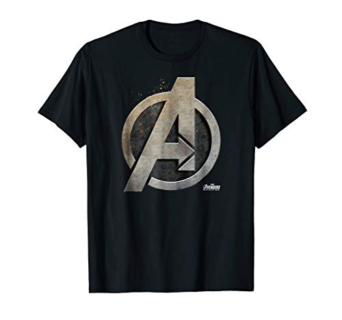 Marvel Avengers Infinity War Steel Symbol Graphic T-Shirt