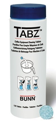 Bunn 39637.0000 Tabz Coffee Brewer Cleaning Tablets