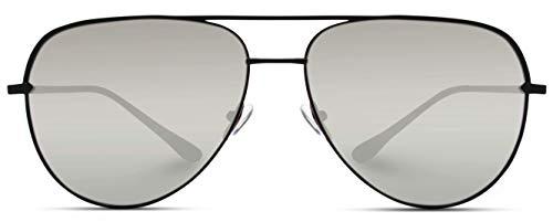 High Quality Aviator Sunglasses - WearMe Pro - Oversized Flat Lens