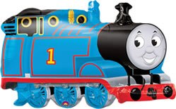 Thomas The Tank Train Mylar Party Balloon SuperShape (Multi color, 1 pack) ()