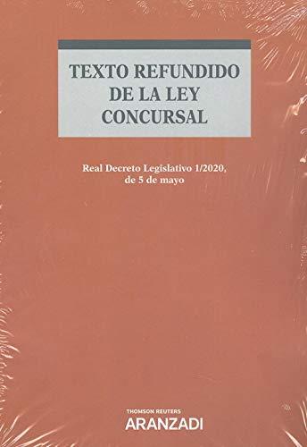 Texto refundido de la Ley Concursal (Papel + e-book): Real Decreto Legislativo 1/2020, de 5 de mayo. (Código Profesional)