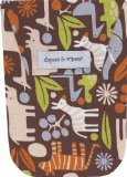 UPC 858807002075, Diapees & Wipees Brown Zoo Animals Baby Diaper and Wipes Bag