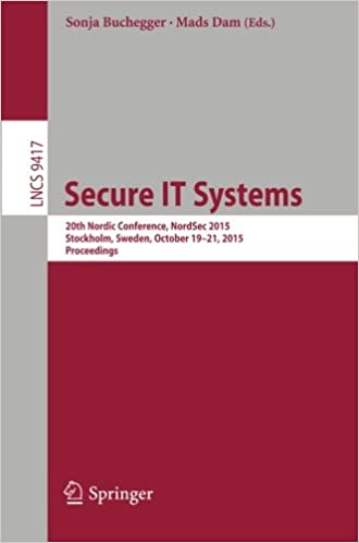 Secure IT Systems: 20th Nordic Conference, NordSec 2015,