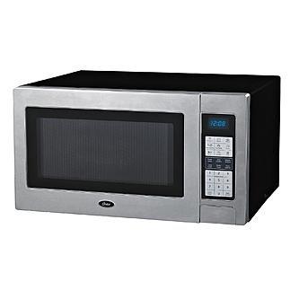red 1100 watt microwave - 3