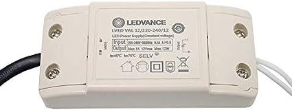 Osram Ledvance Elektronischer Trafo Fur Led Mr16 Lampen Lampe Licht 12v 220 240v Konverter Fur Beleuchtung 12v Led Netzteil Amazon De Beleuchtung