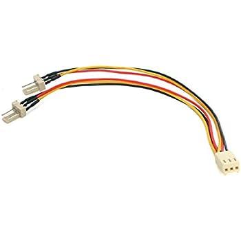 TX3 fan power StarTech Splitter cable 12in TX3SPLIT12