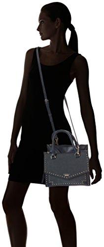 Women's Fiorelli Winter Blue Mix Top Mia Handle Bag Stud dSafqw