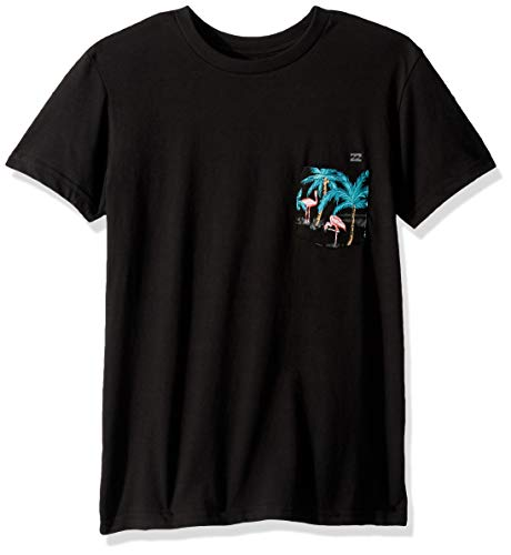Billabong Boys' Team Pocket T-Shirt Black Medium
