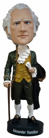 Royal Bobbles Alexander Hamilton Bobblehead - Officially