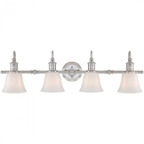 quoizel bgt8604bn four light bath fixture vanity lighting fixtures amazoncom - Quoizel Bathroom Lighting