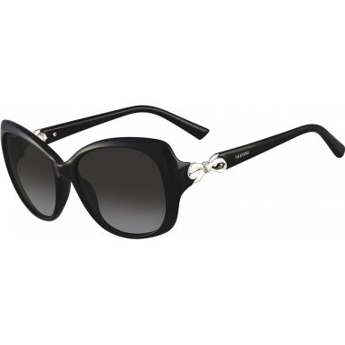 Valentino V639S-001 Ladies Black V639S Sunglasses (Valentino Optical Frames)