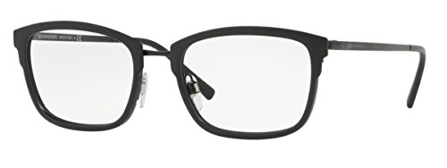 BURBERRY EYEGLASSES FRAME MODEL BE1319 1007 MATTE BLACK - Burberry Male Models