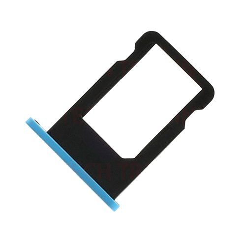 Bislinks® New Replacement Repair Part Blue Sim Tray Card Slot Holder Tray For iPhone 5C by BisLinks® (Image #2)