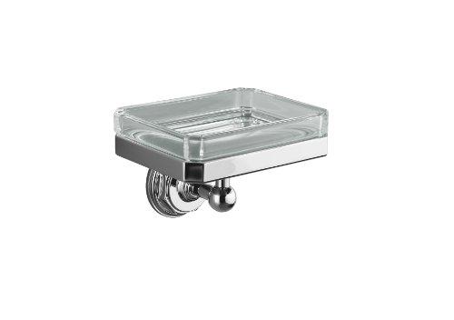 Kohler K-13145-CP Pinstripe Soap Dish Holder, Polished -