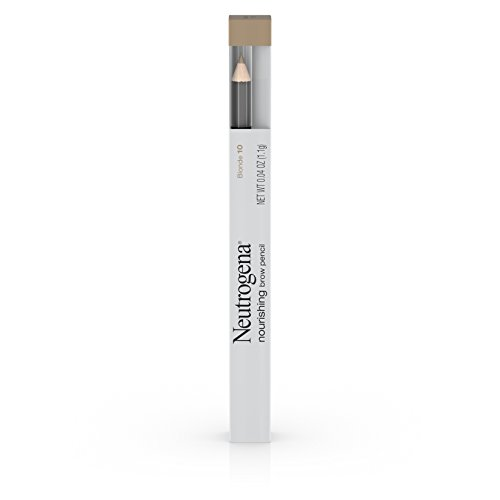 Neutrogena   Nourishing Eyebrow Pencil with Spoolie Brush, 2-in-1 Eyebrow Filler In Shade Blonde 10, .04 oz (Pack of 2)