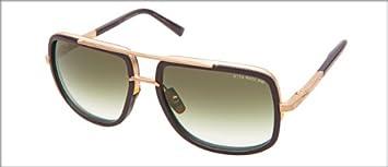 Dita mach-one gafas de sol envejecido 12 K oro W/mate ...
