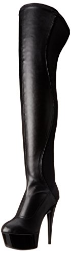 Ellie Shoes Womens 609-unique Boot Black