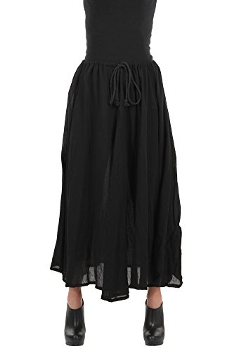 ELOPE Parachute Pirate or Steampunk Costume Skirt for Women Black