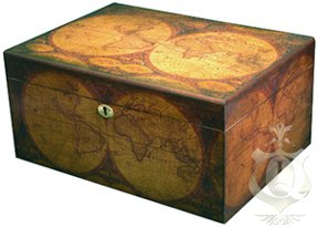 The Old World 100 Cigar Count Humidor