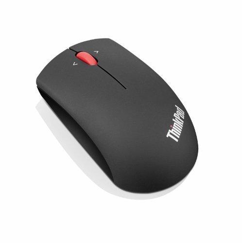 Lenovo ThinkPad Precision Wireless Mouse - Midnight Black - Blue Optical - Wireless - Radio Frequency - Midnight Black - USB - 1200 dpi - Tilt Wheel - Symmetrical - 0B47163