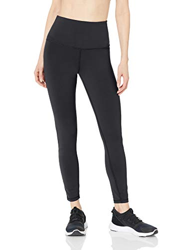 Amazon Essentials Women's Studio Sculpt High-Rise Full Length Yoga Legging, Black, Large