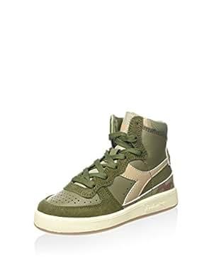 Chaussures Diadora Sont Lacées Mon Panier Jr Eu Olive Camo / Beige 28 (10 Uk) k041lYO0