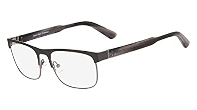 CALVIN KLEIN COLLECTION Eyeglasses CK8009 033 Gunmetal 55MM