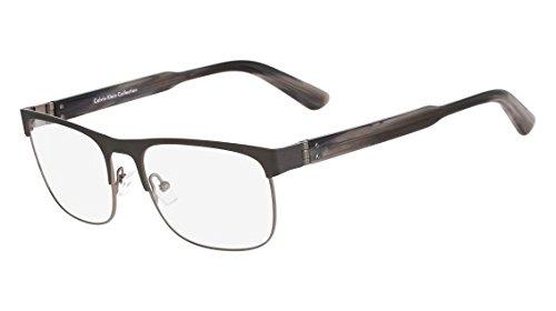 CALVIN KLEIN COLLECTION Eyeglasses CK8009 033 Gunmetal 55MM by Calvin Klein