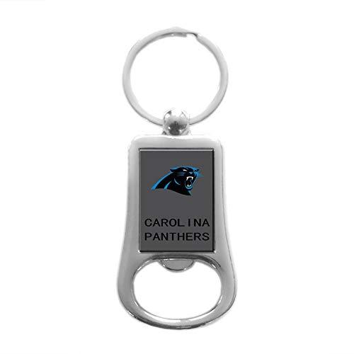 CHNNFC Football Team Logo Stainless Steel Bottle Opener Keychain - Pick Carolina -