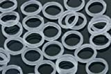"Clear - 1/4"" X-Heavy 6 Oz. - Orthodontic Elastic -For Braces - Dental Rubber Bands"