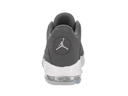 Jordan Nike Mens Franchise Scarpe Da Basket Dk Grigio / Dk Grigio Lupo Grigio Bianco