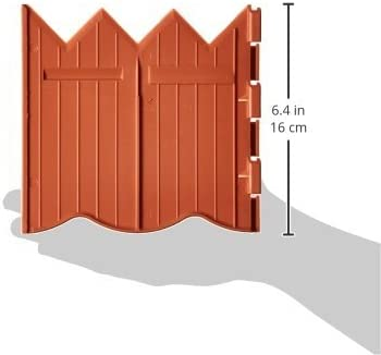 Master Mark Plastics 97520 BorderMaster Poundable Edging 6 Inch by 20 Foot, Terra Cotta