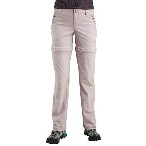 Merrell Women's Belay Convertible Pants, Oyster, 4
