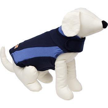 Thundershirt Dog Anxiety Treatment (X-Small/blue polo). Shirt, Wearable, Collars, Help, Calming