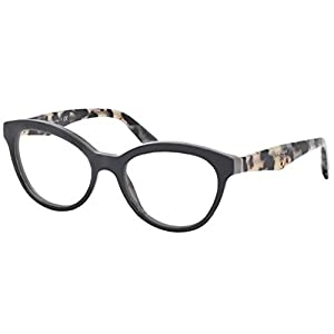 Prada PR11RV TFN1O1 Eyeglasses, Opal Grey/Grey, 50mm