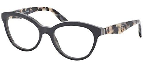 Prada PR11RV TFN1O1 Eyeglasses, Opal Grey/Grey, 50mm
