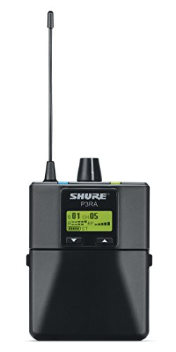 Shure P3RA Professional Bodypack Receiver for PSM300 Stereo Personal Monitor System, G20 by Shure