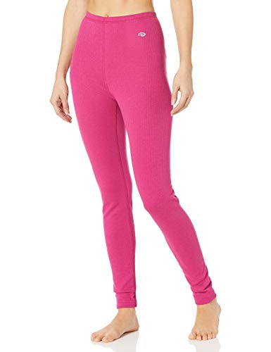 Duofold Women's Thermal Pant, Berry Delight, L