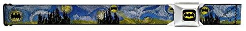 Batman Dark Starry Night Seatbelt Belt