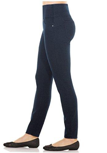 Spanx Shaping Stretch Denim Leggings - Spanx Best Seller! (Large (10), Indigo Wash)