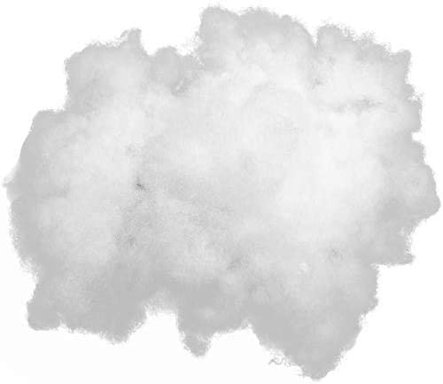 Polyester Stuffing 5 LB Bag 100/% High-Loft Polyester Fiber Fill