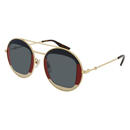 a08380f3b8 Gucci GG 0105 S- 005 GOLD BLUE Sunglasses