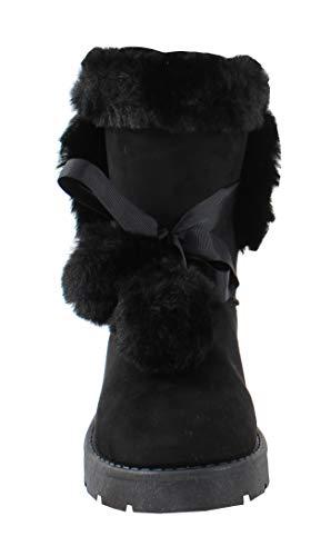 Botte By Style Daim Shoes Femme Black Fourrée 7wgxPqwS