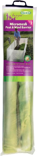 Tierra Garden 50-4000 2-Pack Haxnicks Micromesh Pest and Wind Barrier (Protection Tint Moisture Perfect)