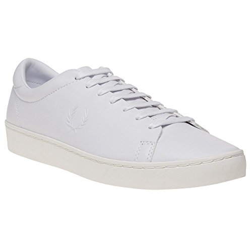 Sneaker Uomo Spencer Premium Perry Fred Leather Bianco Xwv6qXgx