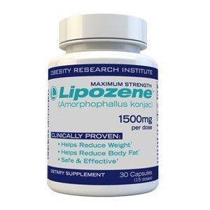 Lipozene Diet Pills - Maximum Strength Fat Loss Formula - 1500mg