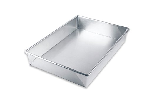 USA Pan Bare Aluminum Bakeware 1110RC-BB 9 x13 Rectangular Baking Pan Warp-Resistant, Rust-Proof Bakeware
