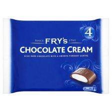 Fry's Chocolate Cream X 4 196G